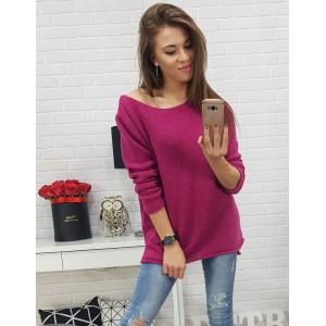 Dámsky ružový sveter