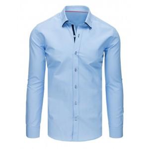 Moderná pánska košeľa do obleku svetlo modrej farby