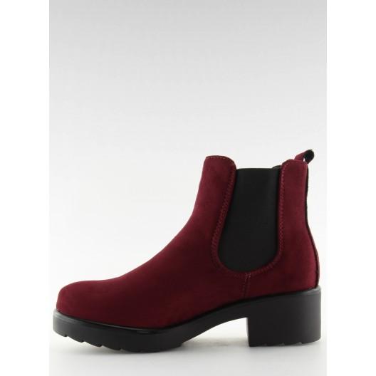 Dámske bordové členkové nasúvacie topánky so strieborným vybíjaním
