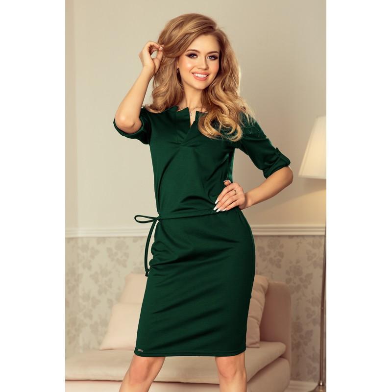 2f85da0b3e Dámske spoločenské šaty na ples v zelenej farbe