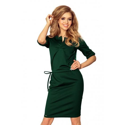 Dámske spoločenské šaty na ples v zelenej farbe