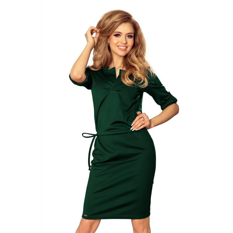 Dámske spoločenské šaty na ples v zelenej farbe afba6d08bf7