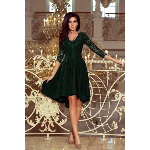Luxusné plesové šaty zelenej farby