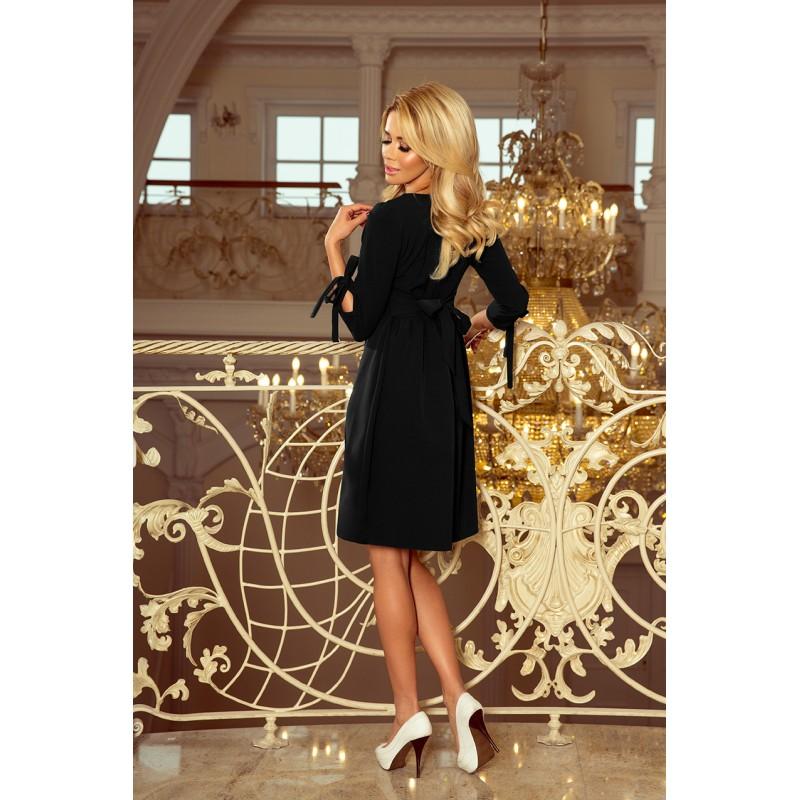 90697581181d Čierne elegantné šaty na večierok
