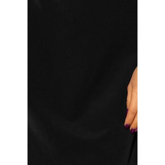 Čierne elegantné šaty na večierok
