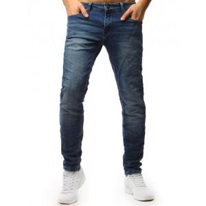 Rifľové nohavice pánske klasického strihu