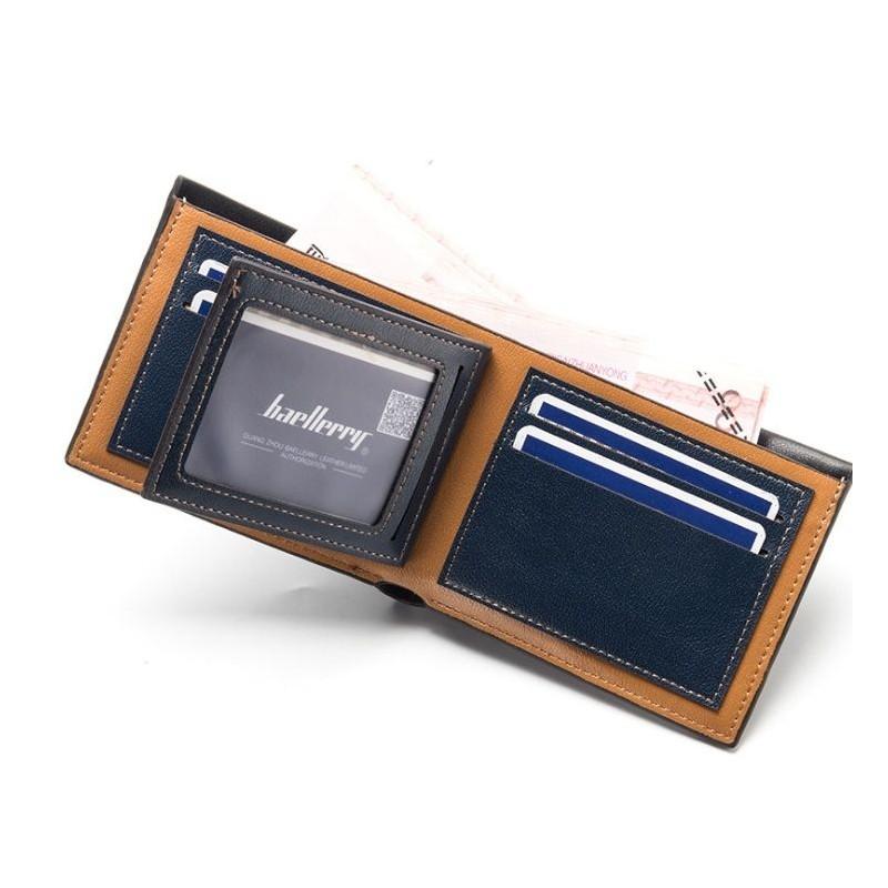 0130ec6779 Čierna pánska peňaženka s detailom a prešitím
