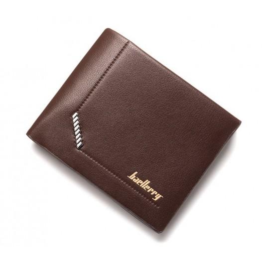 Pánska elegantná peňaženka v hnedej farbe