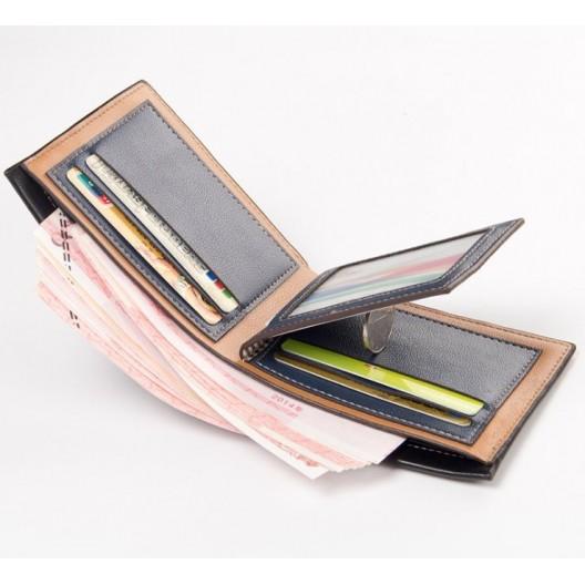 Štýlová pánska peňaženka v hnedej farbe z ekokože