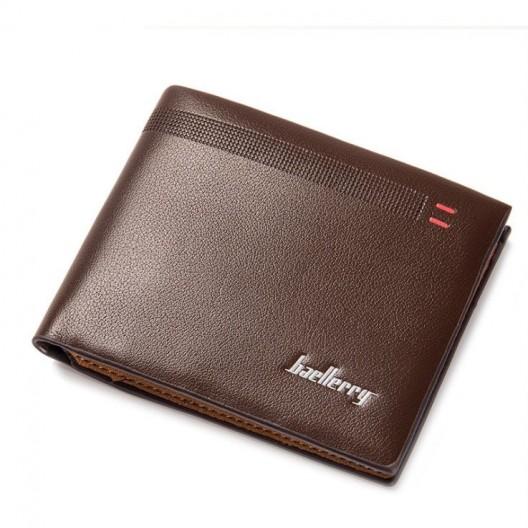Športová pánska peňaženka v hnedej farbe