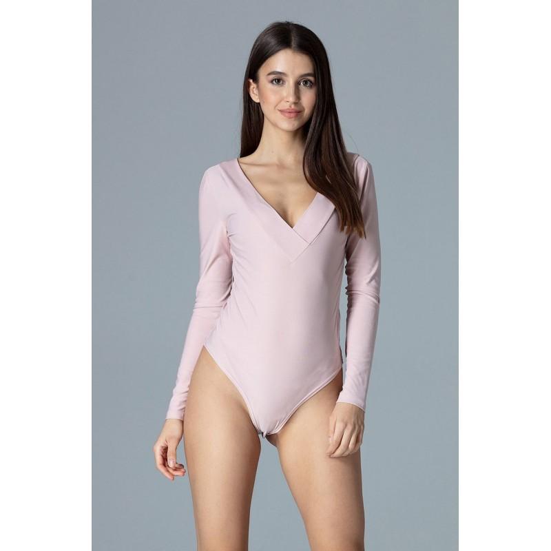 696855037118 Dámske elegantné body ružovej farby