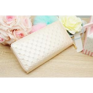 Svetloružová dámska peňaženka na zips