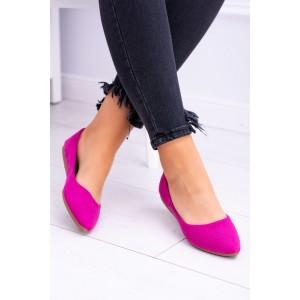 Balerínky v svetlo fialovej farbe pre ženy