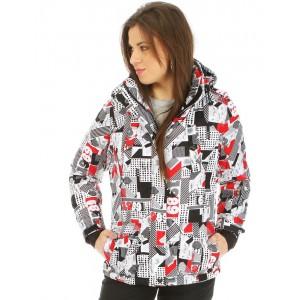Moderná lyžiarská bunda pre ženy ... 7f58c0969ee