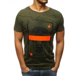 Zelené tričko pre každého muža