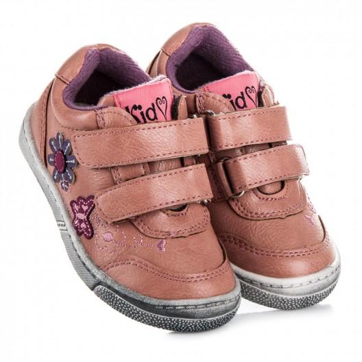 Detské topánky pre dievčatá v ružovej farbe