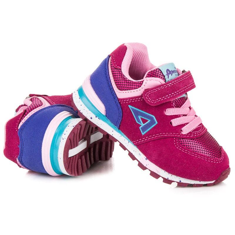 18761e2db1c7 Detské tenisky ružovej farby pre dievčatá
