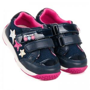 c628e4059b7f4 Detská športová obuv na suchý zips modrej farby