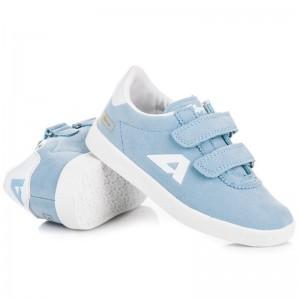 Detské prechodné topánky svetlo modrej farby