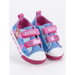 Farebné detské topánky s rozprávkovým motívom