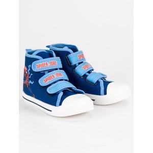 Členkové topánky pre deti s motívom rozprávky Spider-man