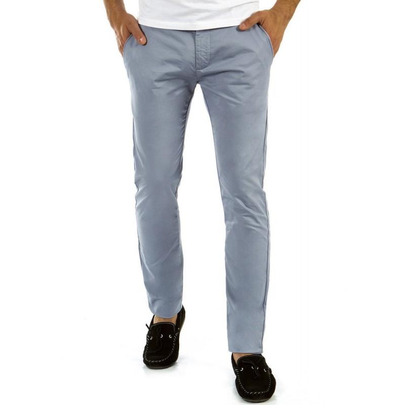 e398f352ba6c Sivé pánske nohavice s vreckami