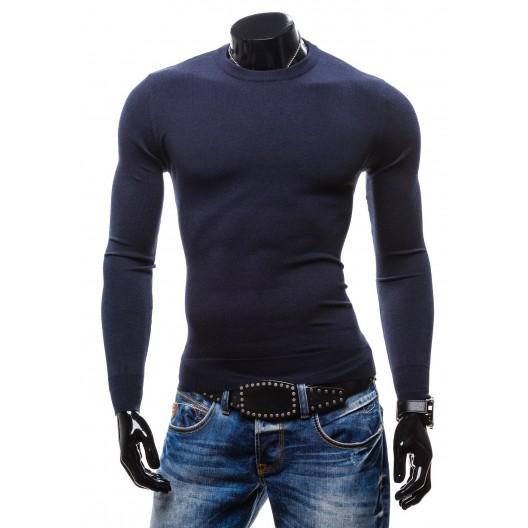 Pánske svetre modrej farby