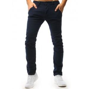 Chino tmavomodré pánske nohavice