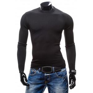 Elegantné pánske svetre čiernej farby