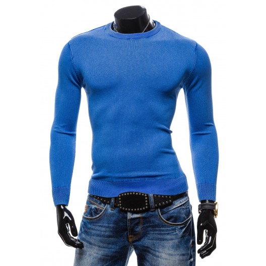 Trendy pánske svetre modrej farby