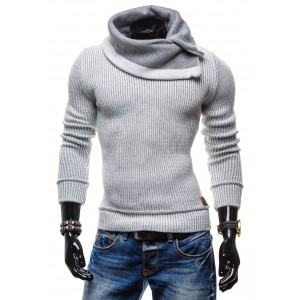 3ab247b530c7 Pánske svetre za najlepšie ceny s golierom ...