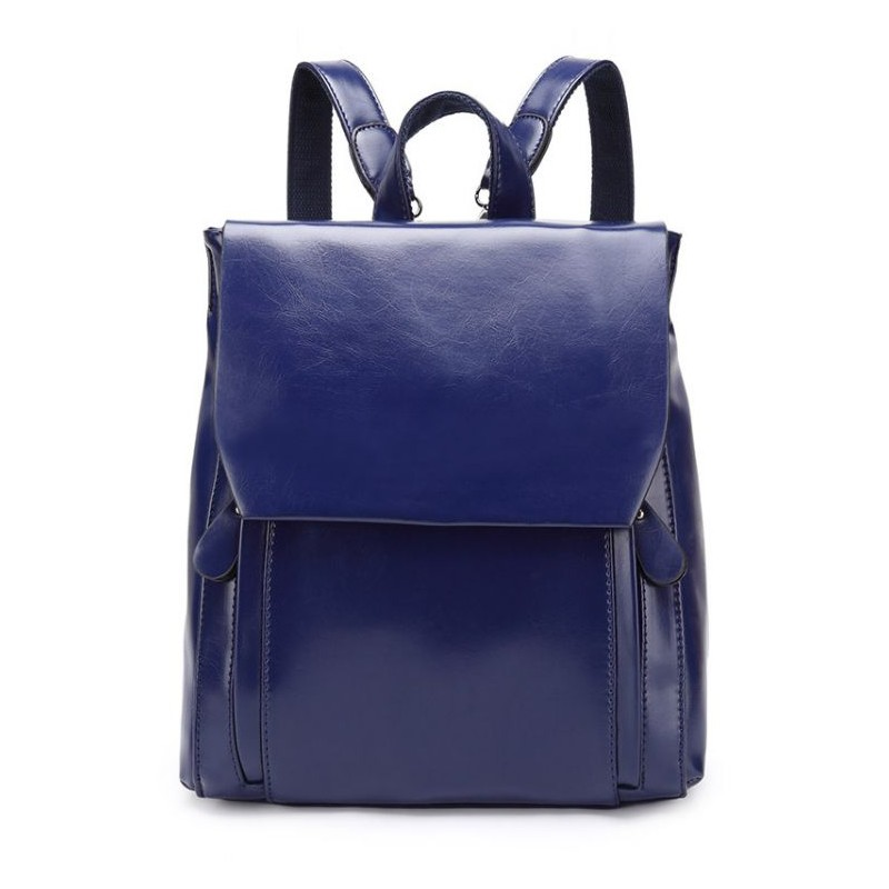 4cc744e7b7 Elegantný dámsky batoh modrej farby
