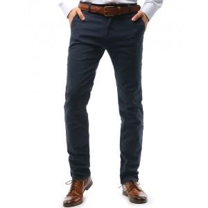 Tmavo sivé pánske nohavice chino