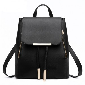 Čierny dámsky batoh elegantný