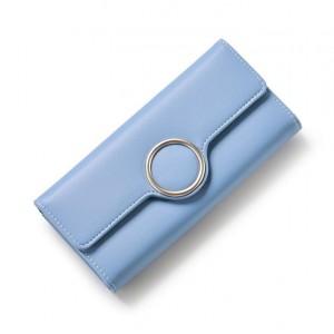 Modrá dámska elegantná peňaženka