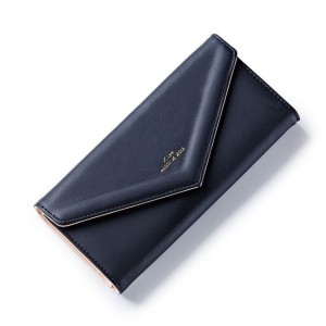 Čierna štýlová peňaženka veľká