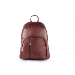 Elegantný dámsky ruksak bordovej farby