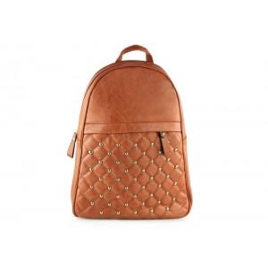 Dámsky ruksak s prešívaným vzorom
