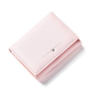 Púdrovo ružová malá dámska peňaženka