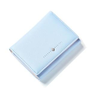 Malá dámska modrá peňaženka
