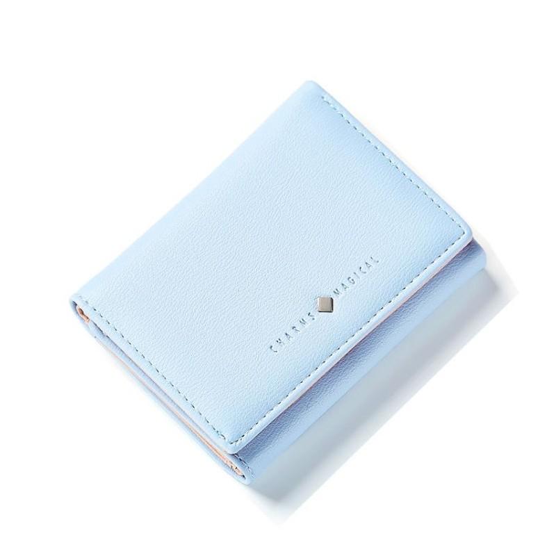 6d0a0c5f7997 Malá dámska modrá peňaženka