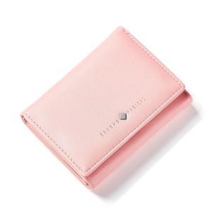 Lososová malá dámska peňaženka