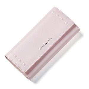 Veľká dámska peňaženka v púdrovo ružovej farbe