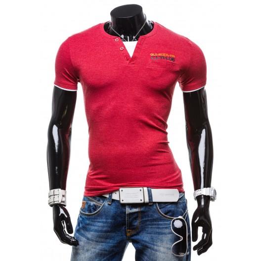 Tohto sezónne pánske tričká červenej farby