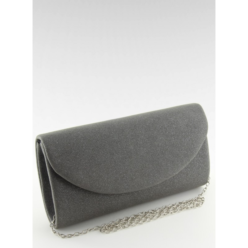 d1077dbce Dámska čierna listová kabelka s kovovou retiazkou na rameno