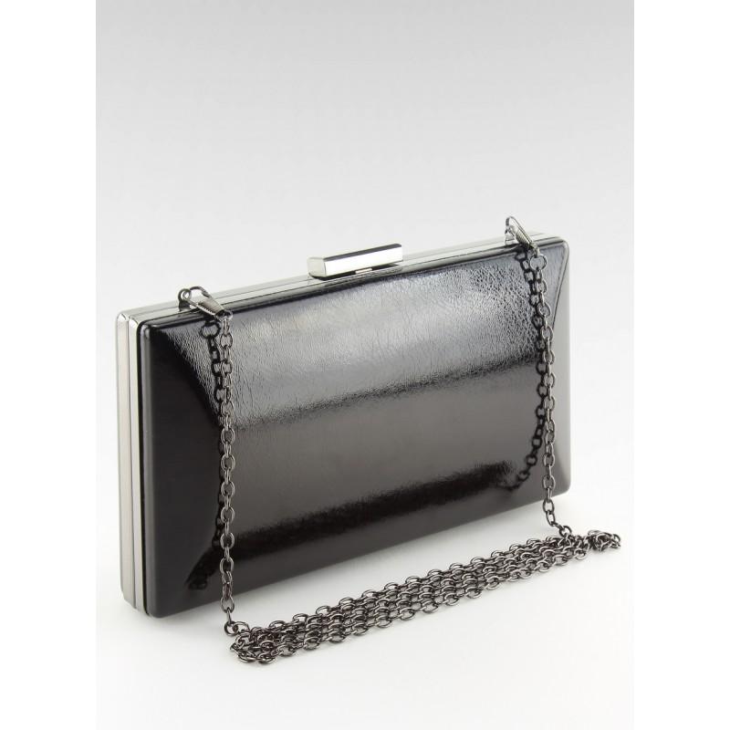 87e9fe6c73 Čierna listová kabelka do spoločnosti