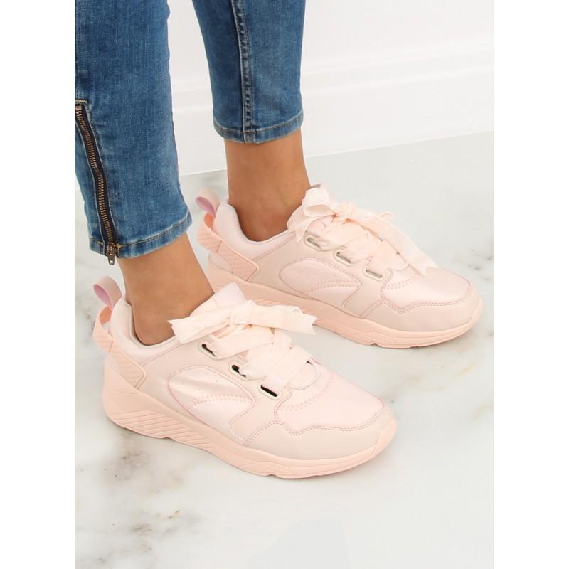 9630410ed5e51 Dámske tenisky ružovej farby na šnurovanie