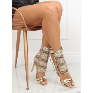 Hadie dámske kotníkové topánky v béžovej farbe