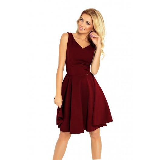 Krátke spoločenské šaty bez rukávov