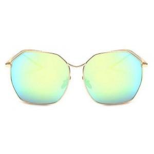 Hranaté slnečné okuliare zrkadlovky